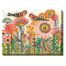 Canvas Wall Art Colorful Birds