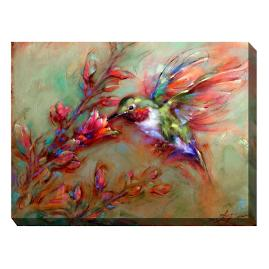 Canvas Wall Art Hummingbird