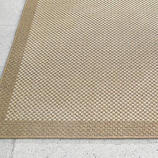 Quinn Basket Weave Outdoor Rug