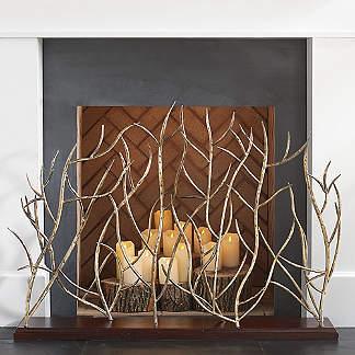 Fireplace Screens & Accessories | grandinroad