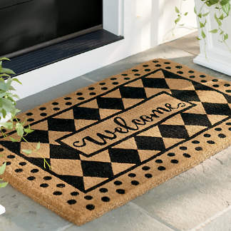Welcome Outdoor Coco Mat