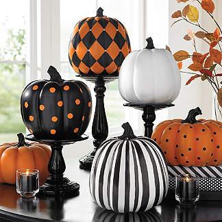 designer pumpkin collection