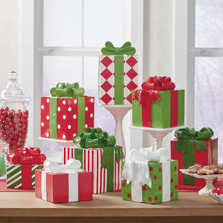 designer presents - Christmas Decorations Indoor