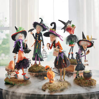 Witch Decorations Witch Decor Witch Figures Grandin Road