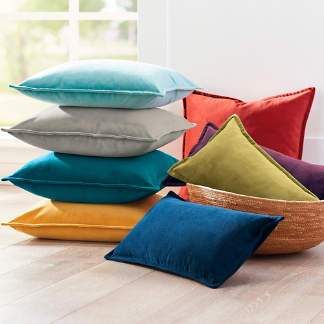 Stella Velvet Pillow Collection