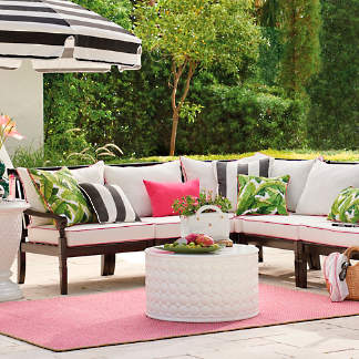 Charlie Outdoor Sectional Collection