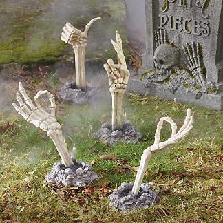 Outdoor Halloween Decorations Halloween Yard Props Grandin Road