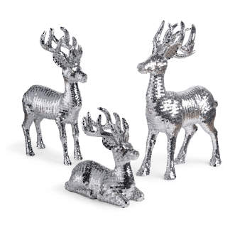 disco deer collection - Indoor Christmas Reindeer Decorations