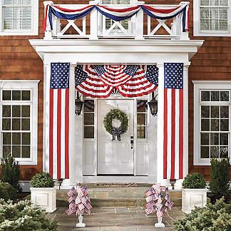 Patriotic Decor 4th Of July Grandin Road