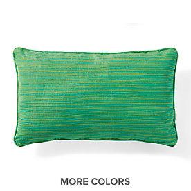 Outdoor Solid Pillows Outdoor Toss Pillows Grandin Road