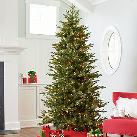 instant joy christmas tree - Pre Lit And Decorated Christmas Trees