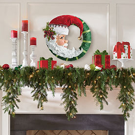 6 cascading christmas garland