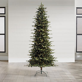 Artificial Christmas Trees Pre Lit Christmas Trees Grandin Road
