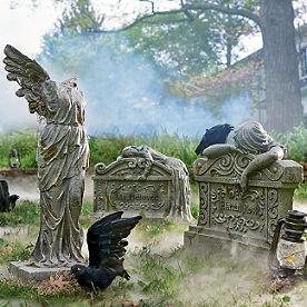 lady tombstones
