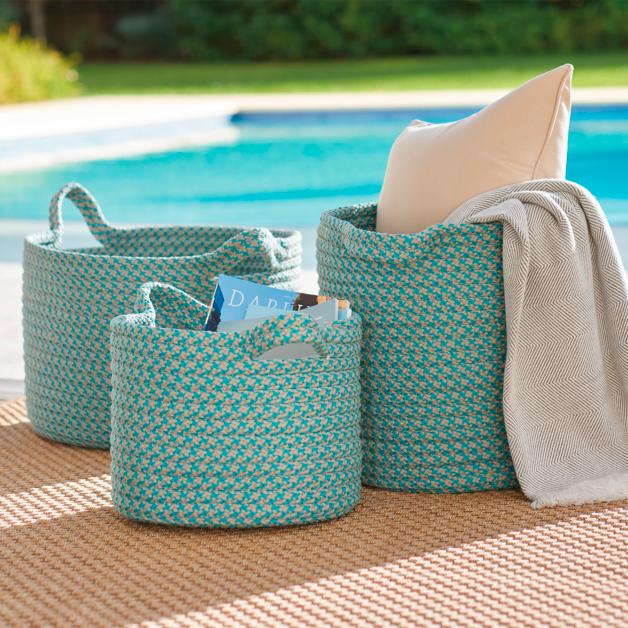 Charmant Mayfield Outdoor Storage Basket