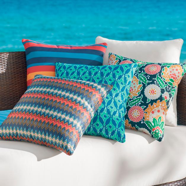 Austin Outdoor Pillow Collection Grandin Road