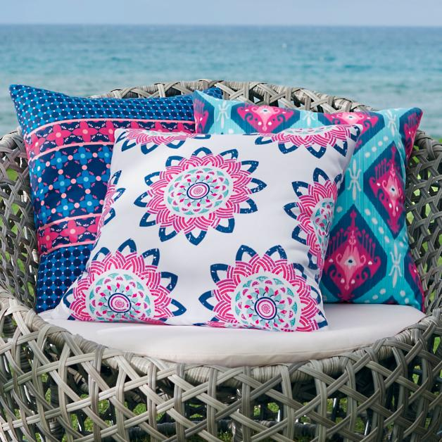 Rosalie Outdoor Pillow Collection Grandin Road