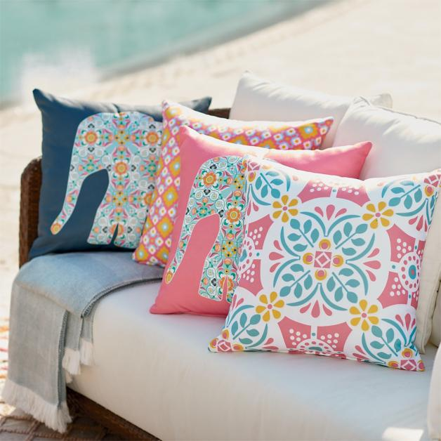 Harlow Outdoor Pillow Collection Grandin Road