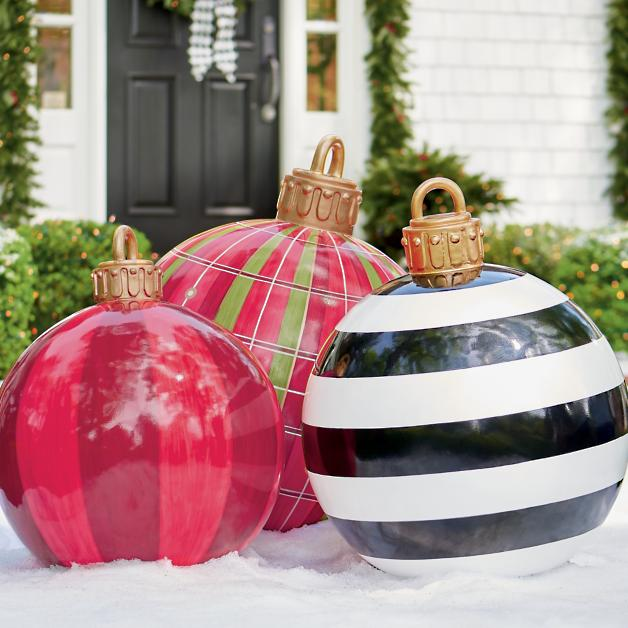 Oversized Yard Ornaments