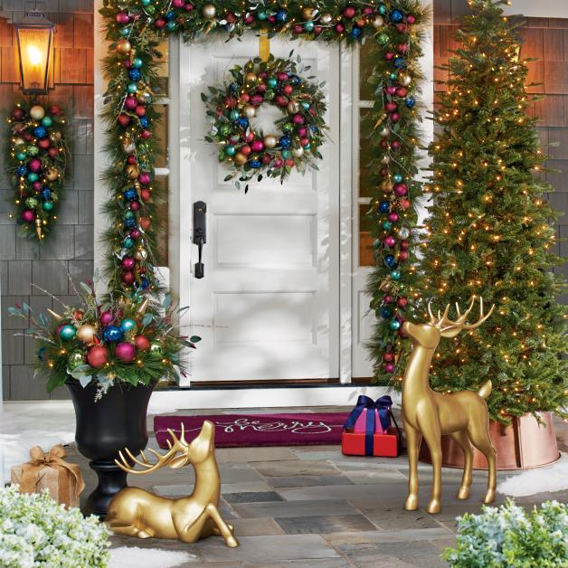 Best Place To Buy Christmas Decorations Online  from akamai-scene7.grandinroad.com