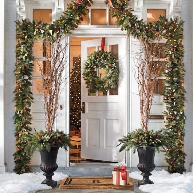 Pre Lit Woodland Christmas Greenery Collection