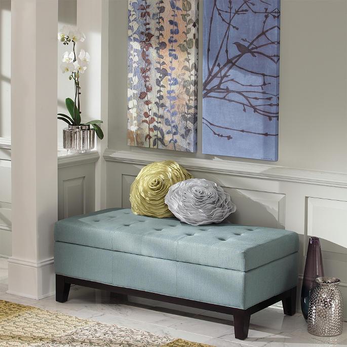 Phenomenal Linley Fabric Storage Ottoman Grandin Road Ncnpc Chair Design For Home Ncnpcorg