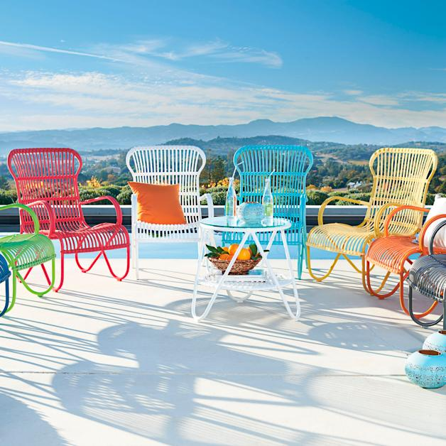 Rizza Outdoor Chair - Rizza Outdoor Seating Collection Grandin Road