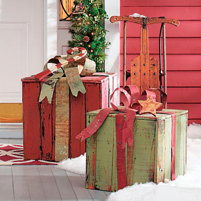 Christmas Gift Packages.Artisan Gift Packages Grandin Road