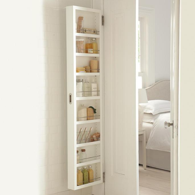 Concealable Door Storage Cabinets Grandin Road