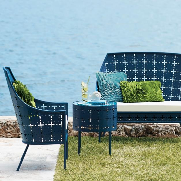 Vogue Loveseat - Vogue Outdoor Furniture Collection Grandin Road