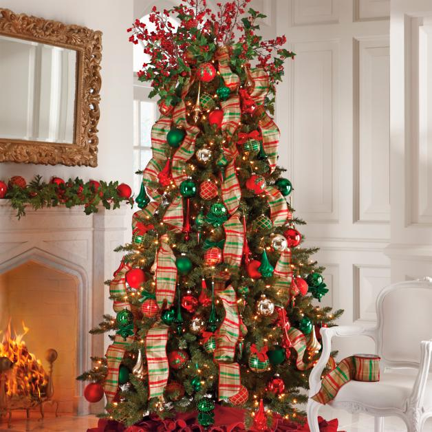 Complete Christmas Tree Decoration Kit