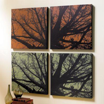 Trees At Twilight Art Prints Grandin Road