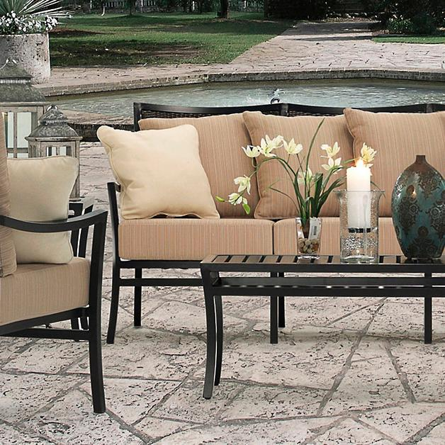 Davenport Patio Furniture.Davenport Outdoor Seating Collection Grandin Road