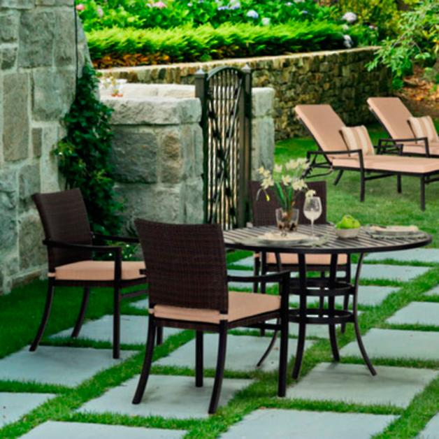 Davenport Patio Furniture.Davenport Outdoor Dining Collection Grandin Road